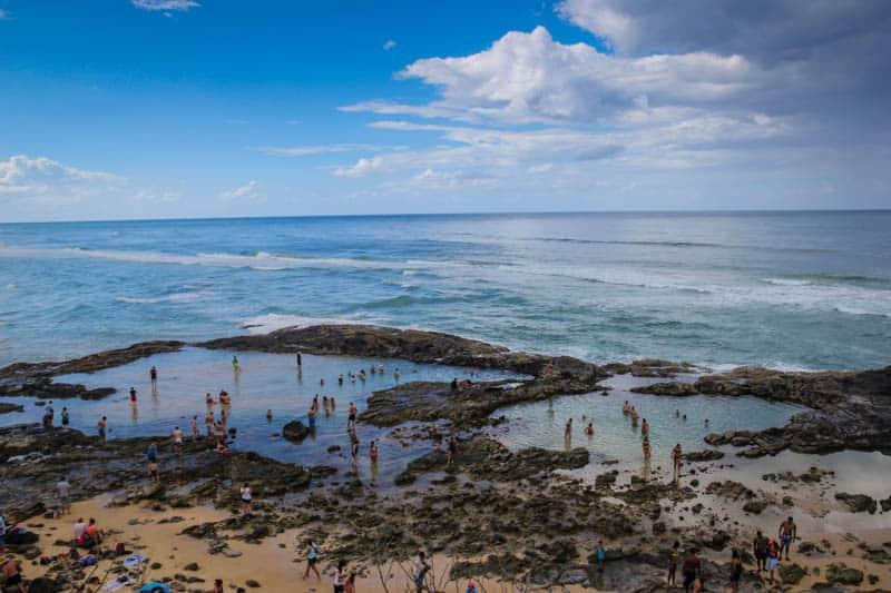 Champagne Pools Fraser Island Australia