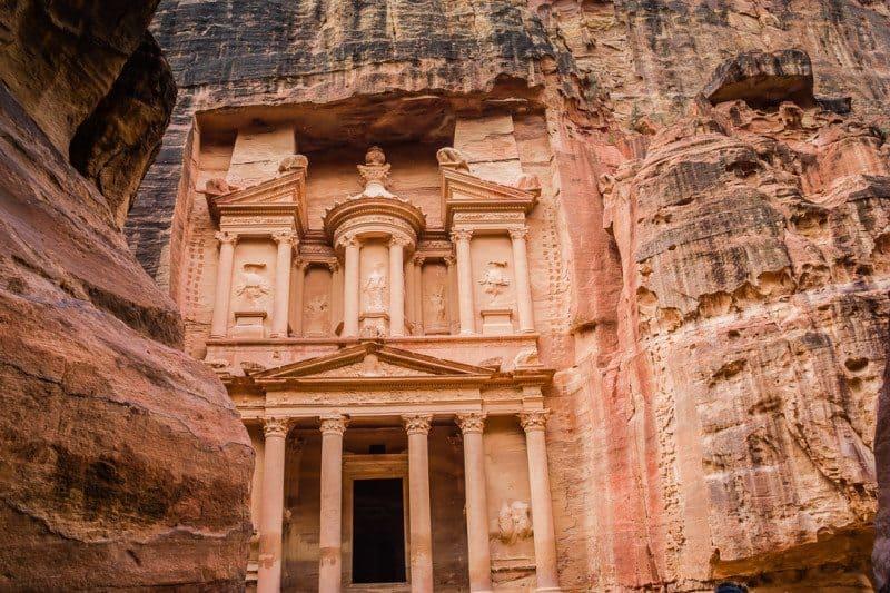 Treasury Petra Is Jordan Safe