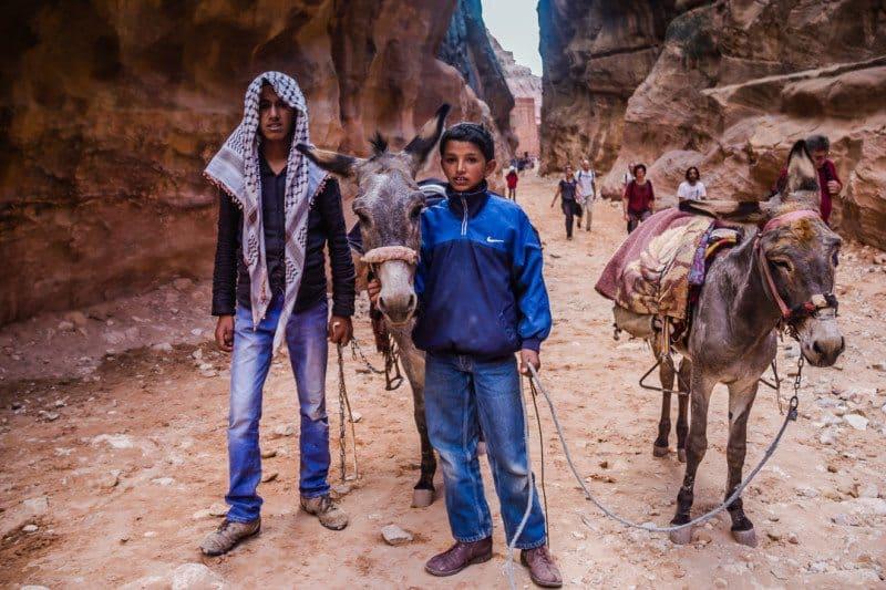 Bedouin Boys Petra Is Jordan Safe