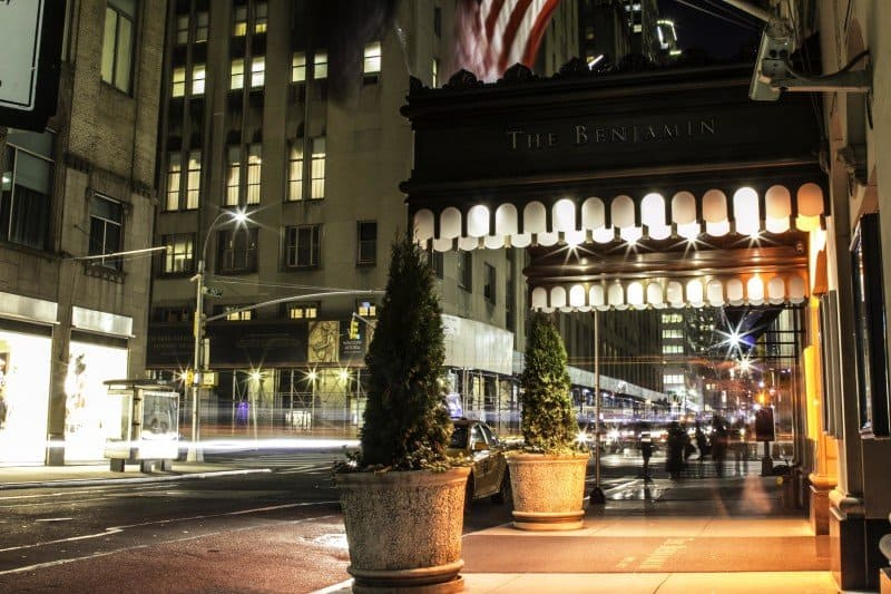 the Benjamin New York City