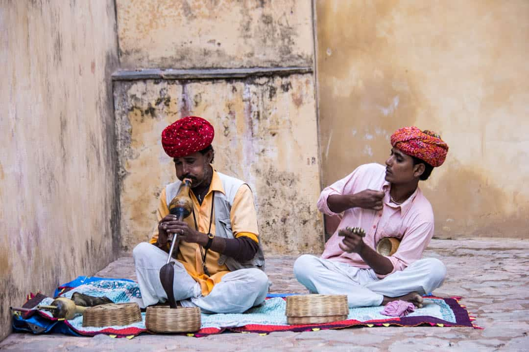 Snake Charmers Jaipur India