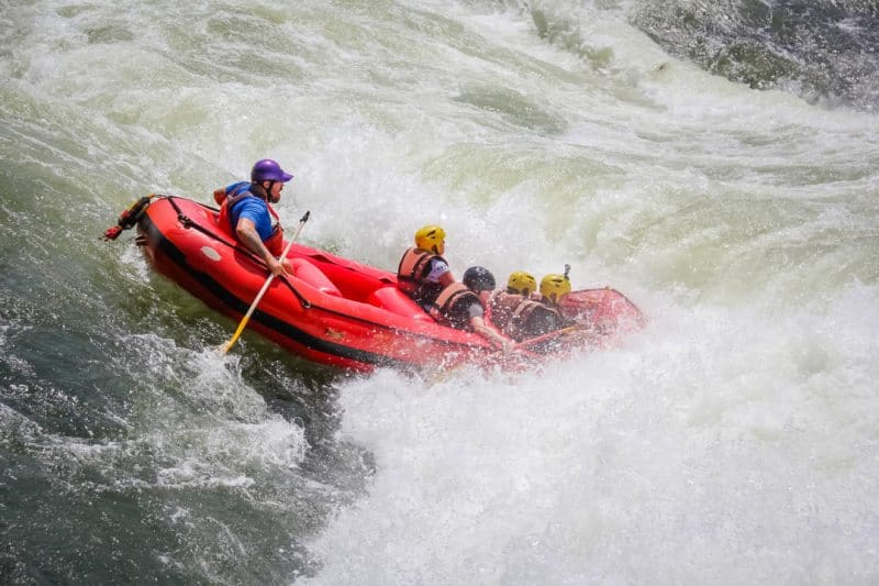 White Water Rafting Nile River Uganda Africa