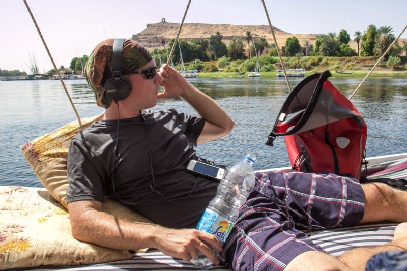 Nile River Felucca Boat Egypt