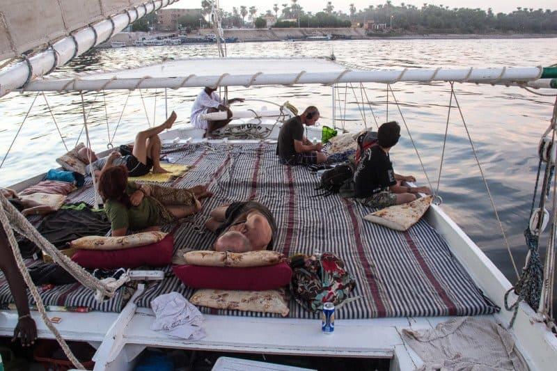 Nile River Felucca Trip Egypt