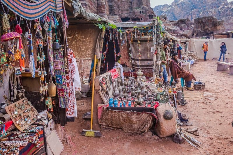 Market Lost City of Petra
