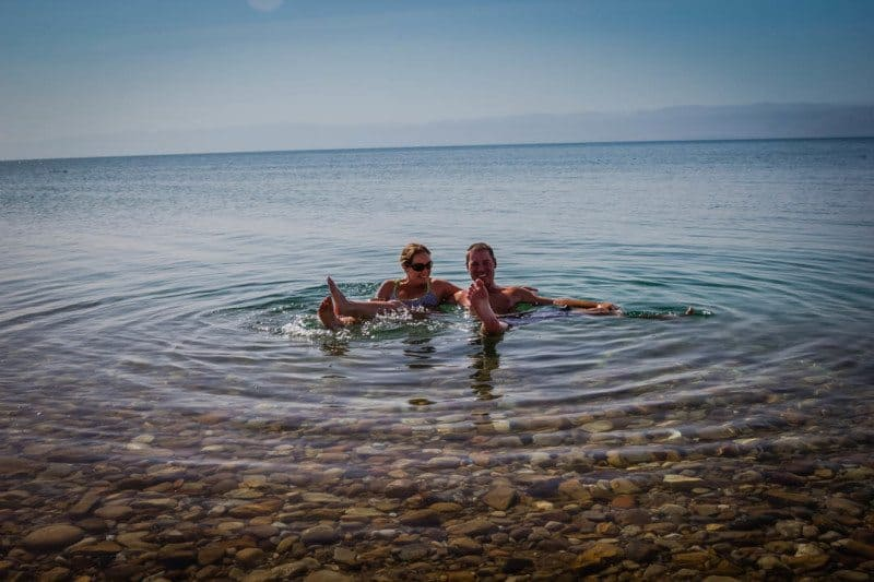 Dead Sea Jordan Divergent Travelers