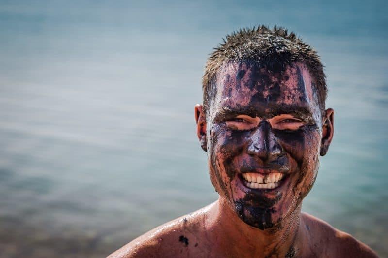 Dead Sea MUD face