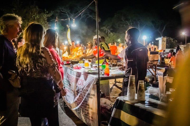 Stone Town Night Market Zanzibar Tanzania