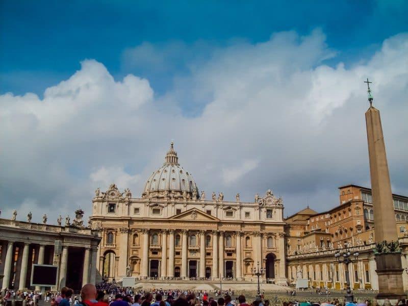 St. Peter's Basilica Vatican City Rome Italy