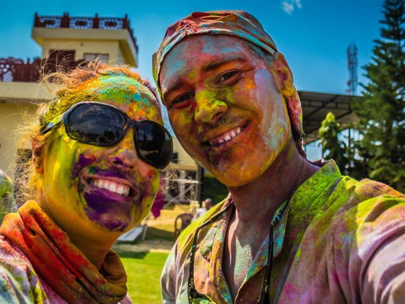 Holi Festival India Divergent Travelers