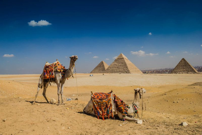 Pyramids of Giza Is Egypt Safe