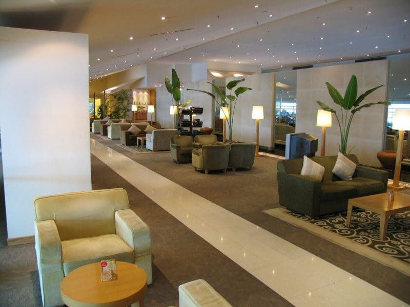 Long Layover Airline Lounge
