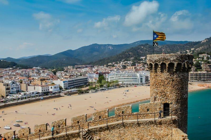 Tossa de Mar Camino de Ronda GR92 Spain