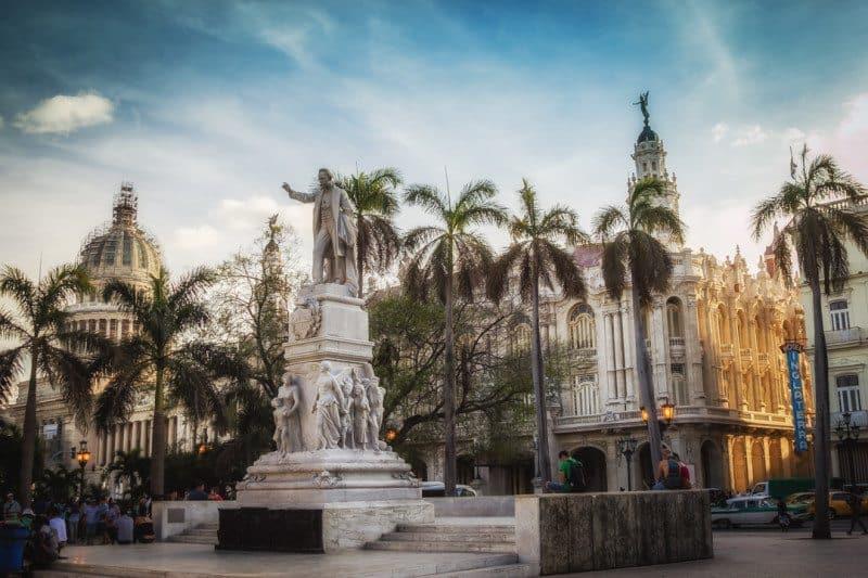 Plaza Central, Havana, Cuba