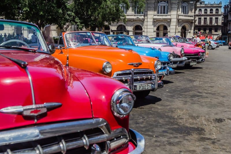 Can Americans Travel to Cuba Havana Classic Cars
