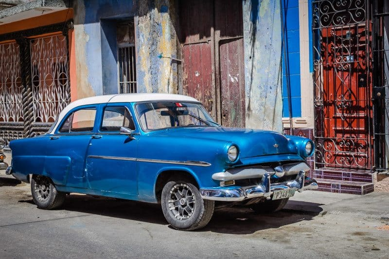 Can Americans Travel to Cuba Classic Car