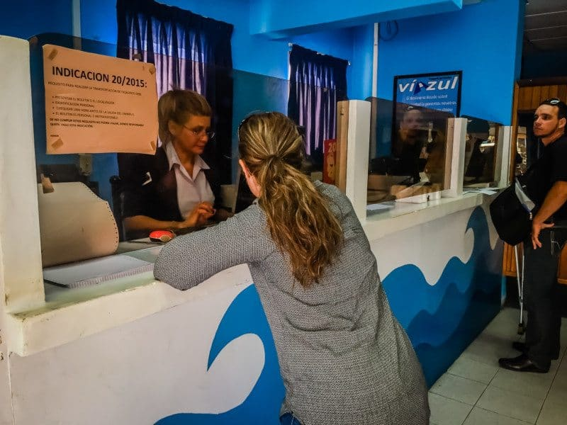 Booking Viazul Bus Tickets in Cuba - LIna Stock