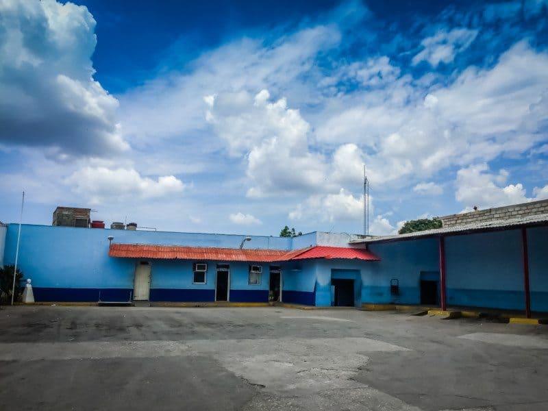 Viazul Bus Station in Trinidad Cuba