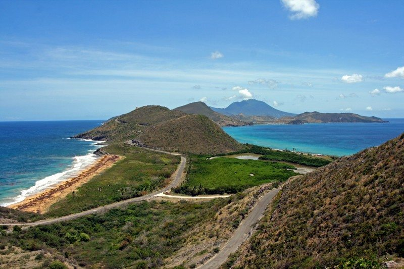 Island lookout on St Kitts