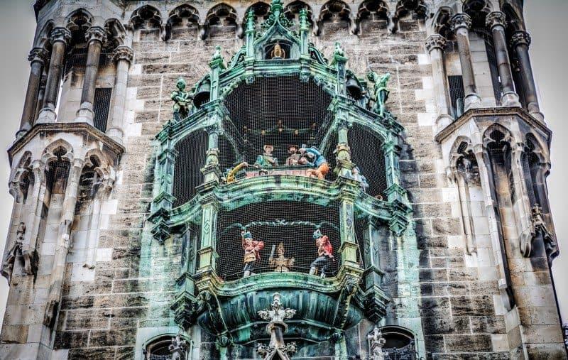 Ratthaus Glockespiel Munich Itinerary Germany