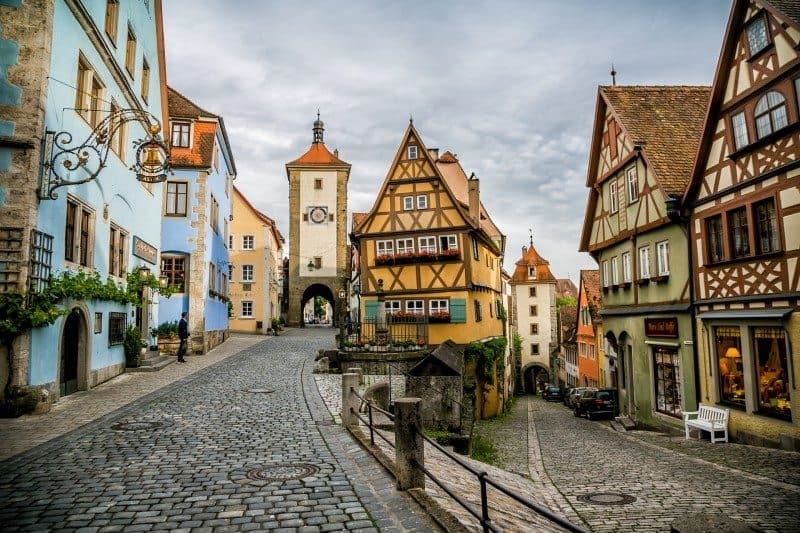 Rothenburg Germany Road Trip