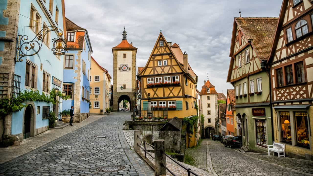 Rothenburg Germnay Romantic Road
