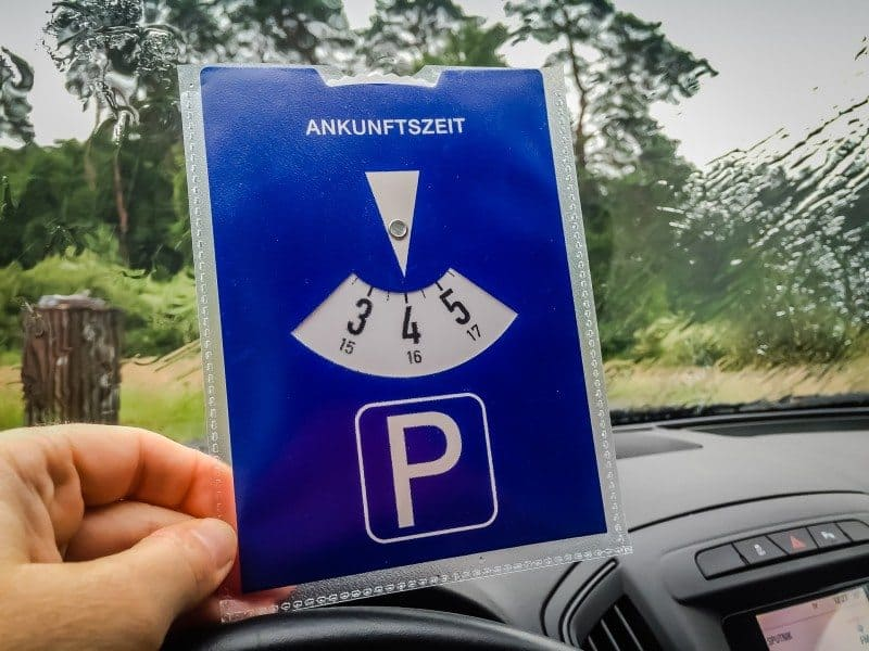 Parking Germany Road Trip