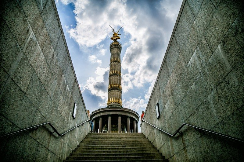 Best Photo Spots in Berlin Victory Monument
