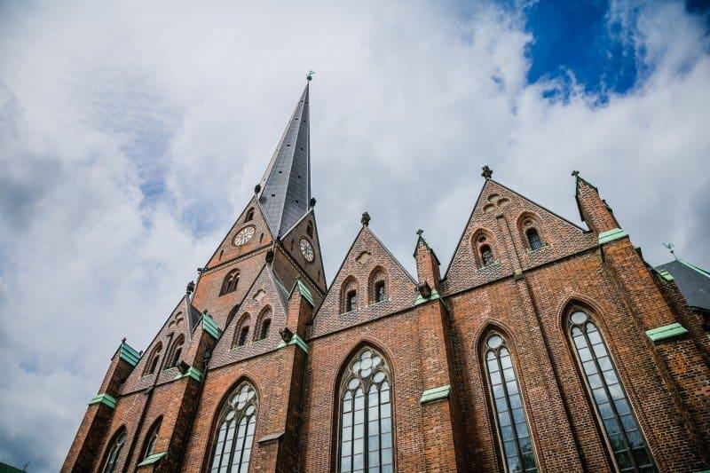 Buildings in Hamburg Germany