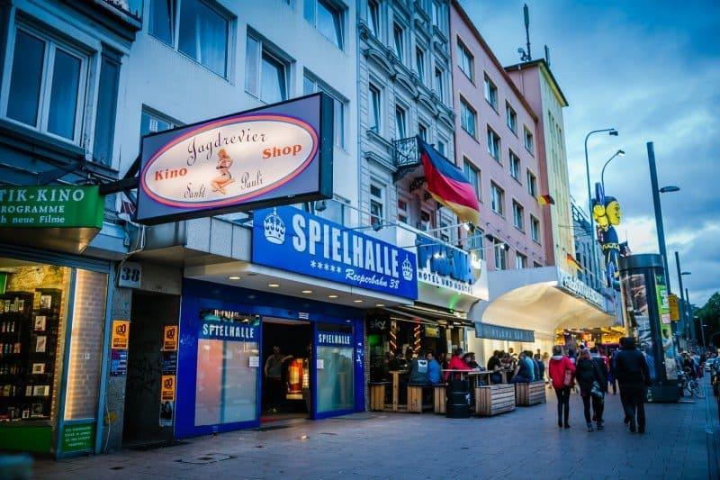 Reeperbahn 3 days in Hamburg Germany