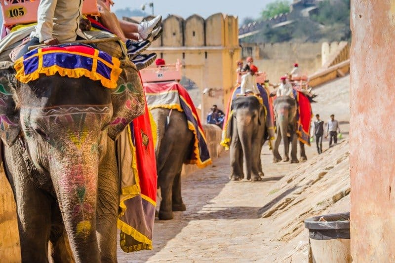 India E-Tourist Visa Amber Fort Jaipur