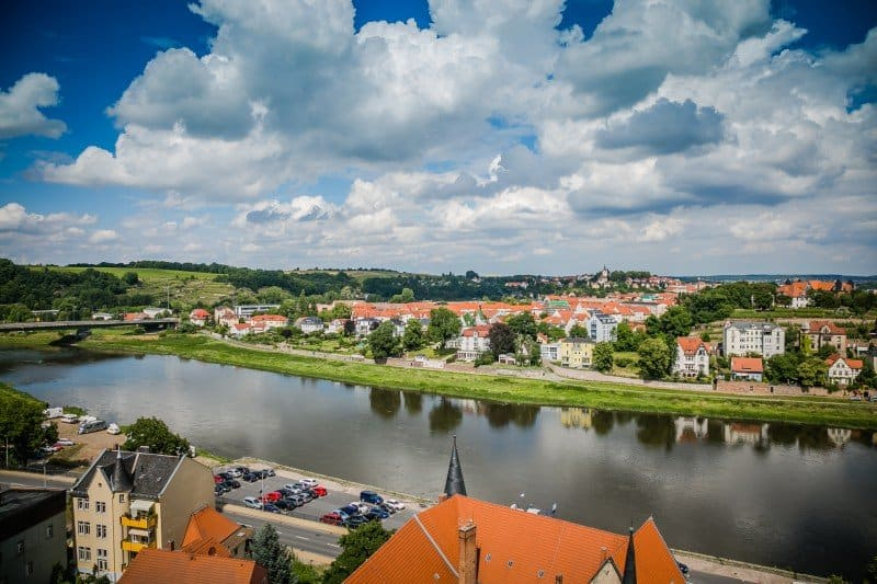 Elbe River Cruise Meissen Germany