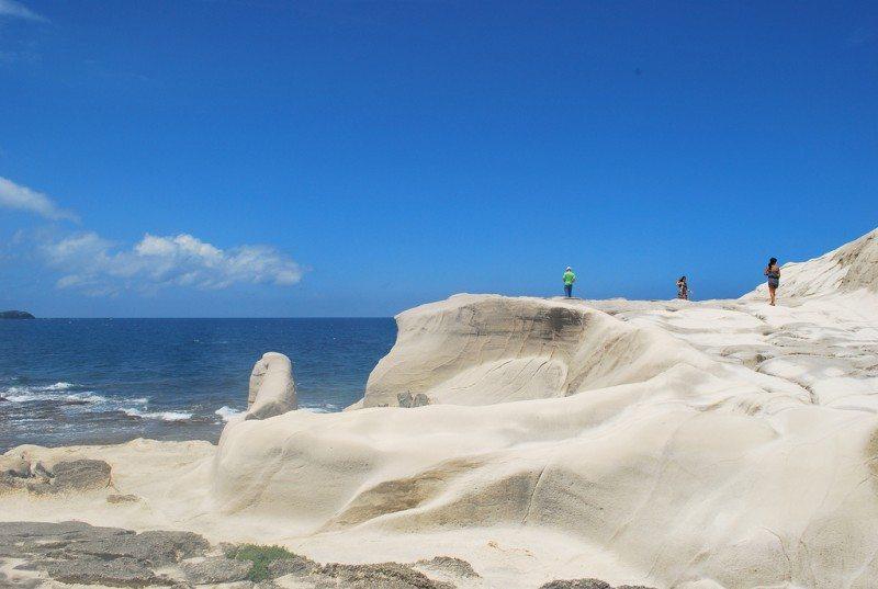 Kapurpurawan Rock Formation Ilocos Norte Philippines