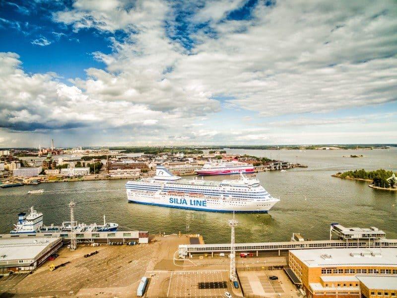 Ferry From Stockholm to Helsinki Tallink Silja