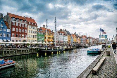Nyhavn Street Copenhagen Denmark