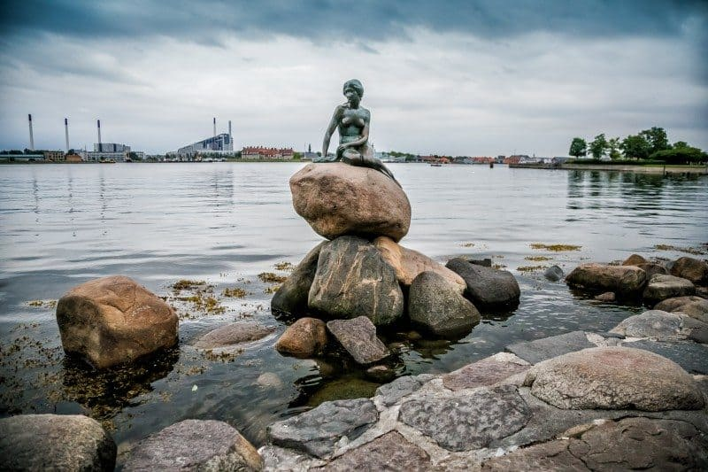 Little Mermaid - things to do in Copenhagen Denmark