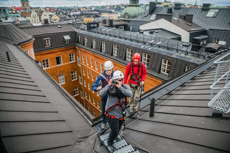 Roof Top Tour in Stockholm