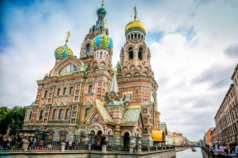 Church of Spilled Blood Best Photo Spots in St. Petersburg Russia