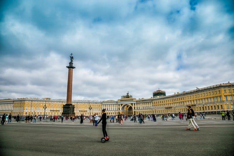 Palace Square Best Photo Spots in St. Petersburg Russia