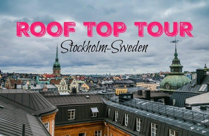 I thought maybe it was just me and I wasn't lining up the tether head correctly, but as the tour continued everyone experienced similar hang ups. Despite this, it was a fantastic roof top tour in Stockholm