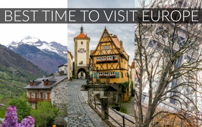 Best Time to Visit Europe