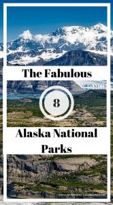 Alaska National Parks Pin