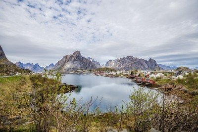 Norway Cruise Guide - Lofoten Islands - Lina Stock