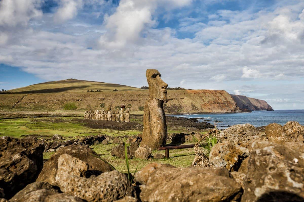 Easter Island Heads - Lina Stock