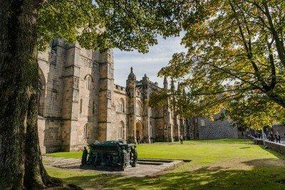 Old Town Aberdeen Scotland