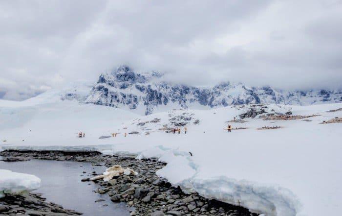 Jougla Point Antarctica - Lina Stock
