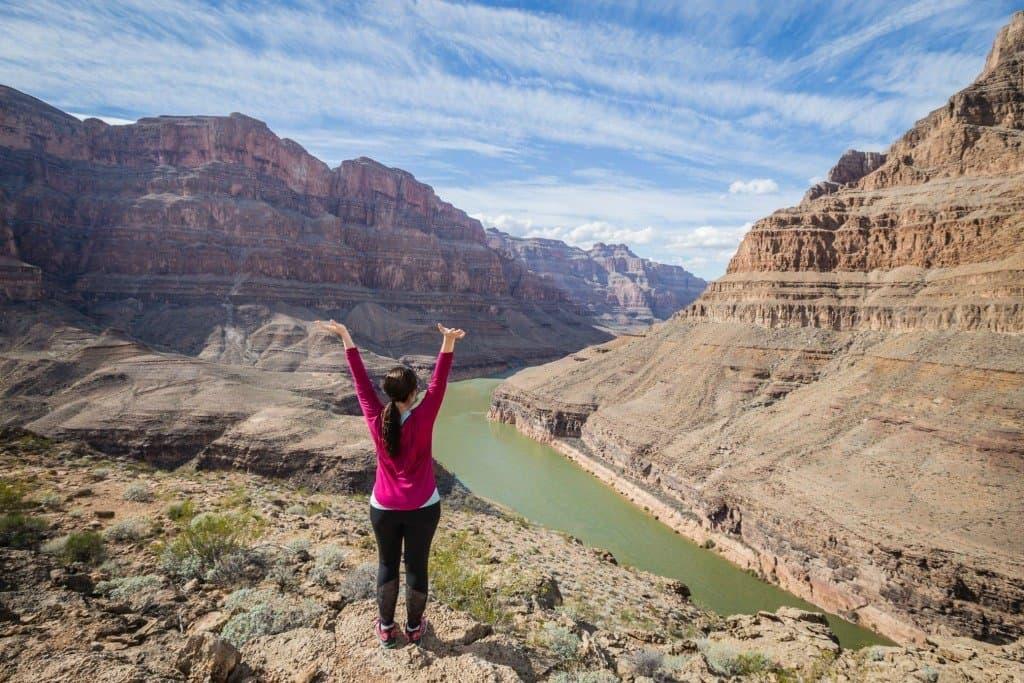 Lina Stock at Grand Canyon National Park