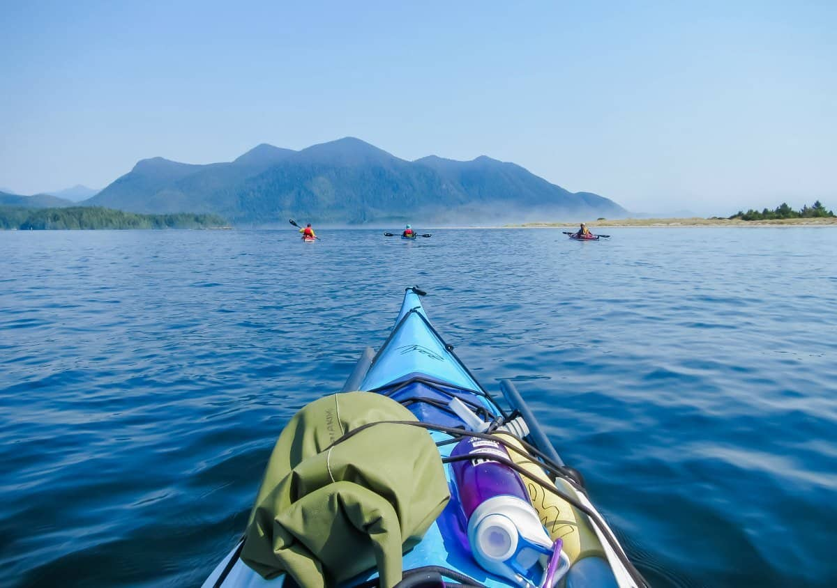Kayaking Vancouver Island 4 Days On The Clayoquot Sound