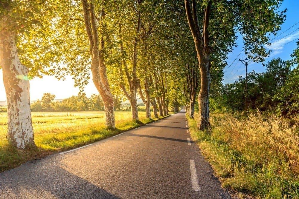 road in tuscany italy