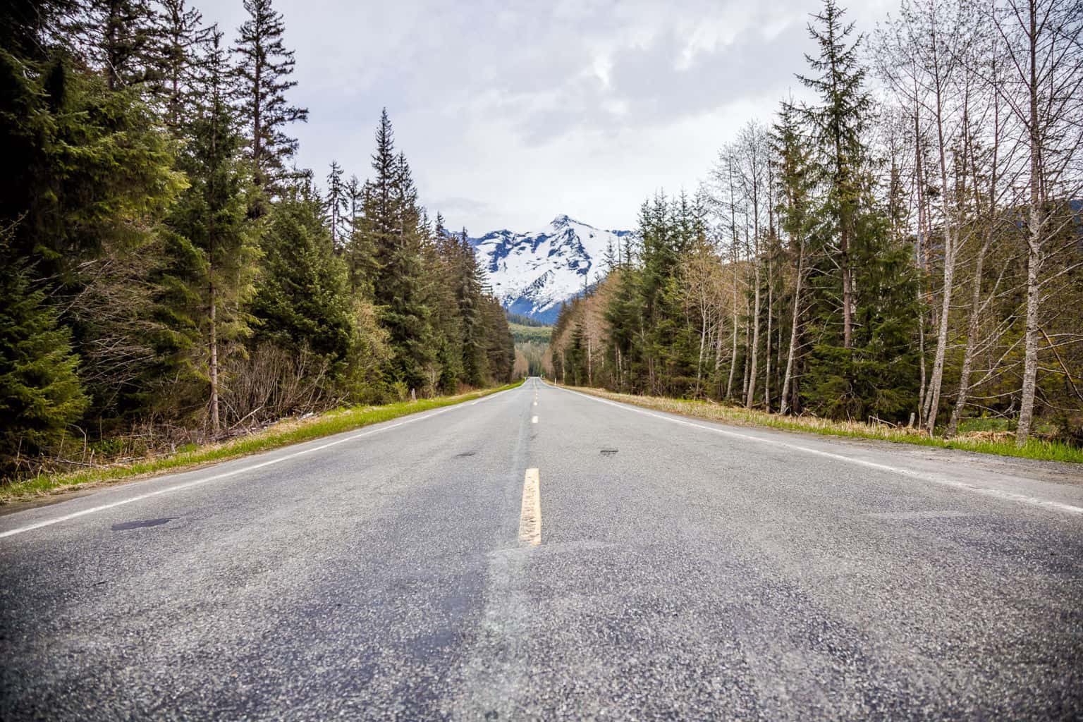 Alaska - Most roads are paved